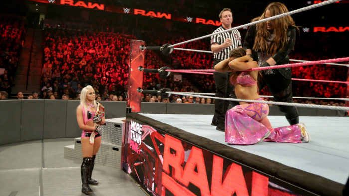 Monday Night RAW Results